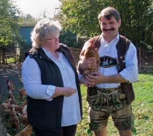 Elke und Michael Friedinger, Löfflerhof in Farchach